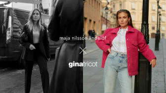 Maja Nilsson Lindelöf x Gina Tricot - The success continues