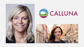 Styrelsen för Calluna AB har utökats med Eva Gidlund (t.v.) som ny ordförande och Linda Burenius (t.h) som ledamot.
