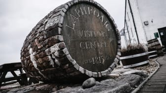 Laphroaig distillery visit center