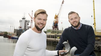 Fredric Johansson till vänster och Markus Leufkens till höger.