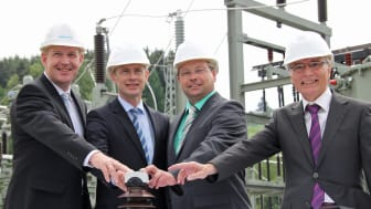 Presseinformation: Bayernwerk nimmt Umspannwerk in Falkenstein in Betrieb – freie Fahrt für Energiezukunft in der Region