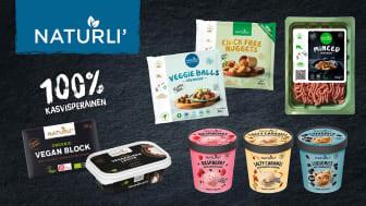 Orkla tuo kauppoihin menestysbrändi NATURLI'n – kiinnostus kasvipohjaisiin tuotteisiin on Suomessa Pohjoismaiden korkeinta