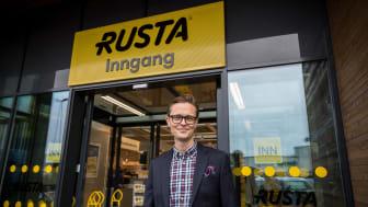 Erlend Kramer, daglig leder, Rusta Norge.