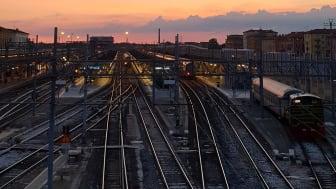 Järnvägen central för att uppnå regeringens klimatpolitik