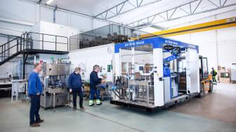 Leverans, installation och igångkörning av robotstationen Air Grip World tog bara några timmar hos Ängöl i Kalmar.
