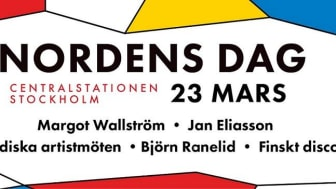 Nordens dag firas på Stockholms Centralstation den 23 mars.