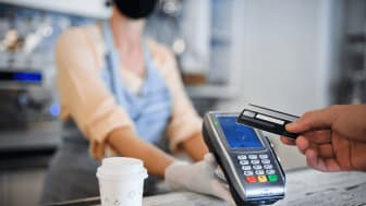 Entercard's customers are increasing their use of contactless payments