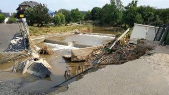 Rückkehr Helfer Flutkatastrophe