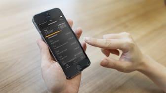 Svenskt kreditkort först i Europa med fingeravtryckinloggning i app