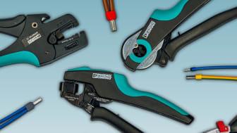 Trådändhylsor och pressverktyg