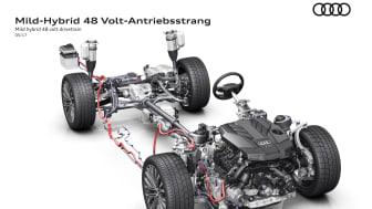 Audi mildhybridteknik 48 volt