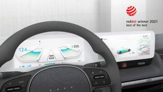 Hyundais brukergrensesnitt Jong-e. Foto: Hyundai