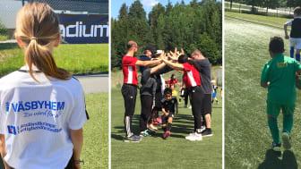 Fotbollskola i samarbete med Runby IF, Parsian Väsby IF och Bollstanäs SK.
