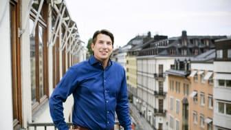 Jonas Nygren som nomineras till ordförande i HSB Riksförbund. Bildkälla: Hyresgästföreningen