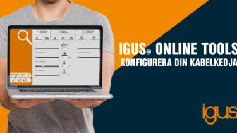 Med hjälp av igus® online tools kan du själv ta reda på vilken kabel och kabelkedja du behöver till din applikation.