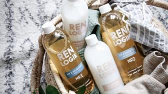 Mjukmedel och rengöringsmedel från Ren Logik.