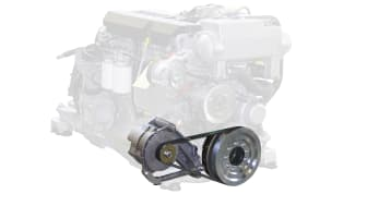 Hi-res image - VETUS - VETUS is introducing a second 24V / 75 Amps alternator with an intelligent controller (ACR) for its D-Line (Deutz) common rail engines