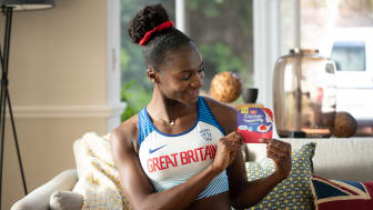 Müller Corner TV advert - Dina Asher-Smith