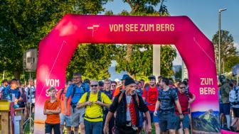 """Start in Rorschach zum ersten """"Vom See zum Berg"""" Event im Jahr 2020"""