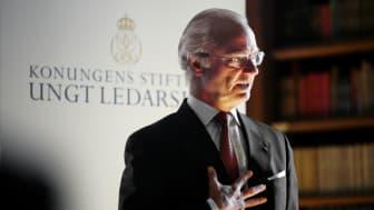 Den 14 april delar Konungens Stiftelse Ungt Ledarskap ut Kompassrosen till tre unga ledare