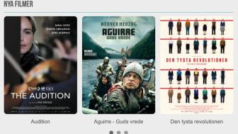 """Sveriges Förenade Filmstudios (SFF) fortsätter att erbjuda kvalitetsfilm digitalt i väntan på """"bättre biotider""""."""