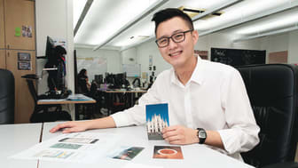 Luke Wu, co-founder of Spark Asia, is drawn to the high-quality, low cost prints that Epson's ink tank system printer deliver.