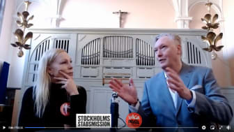 Michael Lundh i samtal med Hjärnkoll Stockholms Lou Rehnlund