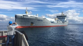 Historic moment:  First ship to bunker LNG at the Port of Gothenburg
