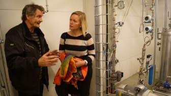 Bjørn Buller og Ingrid Slungaard Myklebust