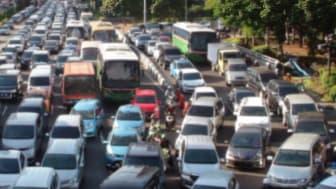 Rush hour traffic in Jakarta, the capital of Indonesia. (iStock photo: Copyright LIVINUS )