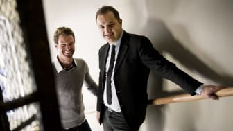 Arno Smit and Daniel Daboczy - co-founders of FundedByMe