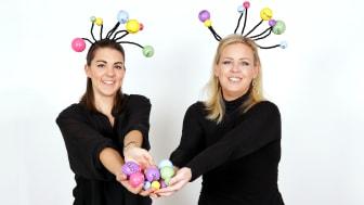 Jessica Malmberg och Caroline Ekstrandh från Startupen MiNDiGO, fotograf Victor Ackerheim