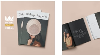 """""""Wallpaper Magazine"""" nominerat till Svenska Designpriset"""