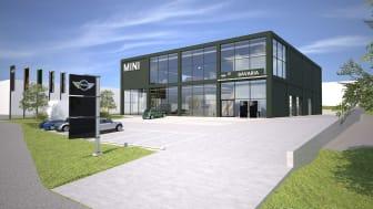 Den 2 november är det premiär för MINI Flagship Store i Danderyd