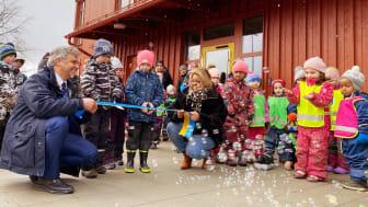 Invigning av Rudsängens nya förskola