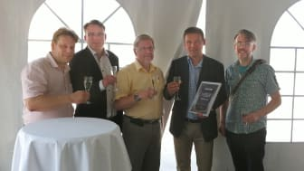 Prisutdelning SATEL Distributor Of The Year