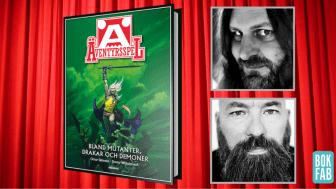 Orvar Säfström och Jimmy Wilhelmsson gör bok om spelföretaget Äventyrsspel.