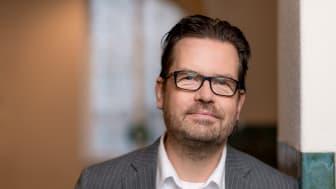 Mikael Andersson har utsetts till CFO på Humlegården Fastigheter. Foto: Jonas Malmström