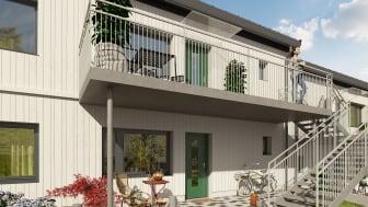 Nyproducerade bostadsrätter och äganderätter