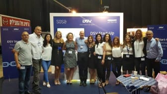 The DSV Start-Up team at an industrial fair in 2018