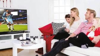 Viasat først med UHD på IPTV hos HomeNet