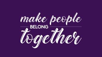 We make people belong together