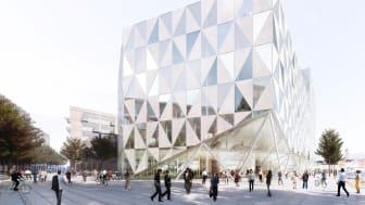 Prisma - en av Sveriges finaste kontorsfastigheter.