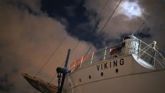 Barken Viking återvänder till Göteborg
