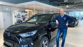 Toyota er Sortlands mest kjøpte bilmerke i første kvartal