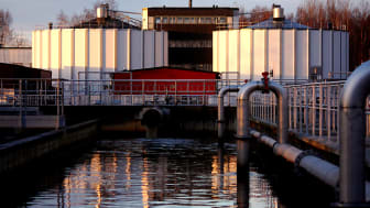 Rapportframsidesbild: Rötkammare vid Skebäcks avloppsreningsverk i Örebro. Foto: Fredrik Stenström, VA-Ingenjörerna - Veolia Water Technologies