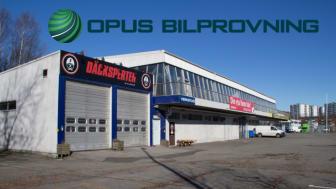 Opus Bilprovning etablerar i Däckspertens gamla lokaler på Hisingen/Lundby.