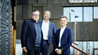 Adm. direktør i Telenor Lars Thomsen, direktør i OpenNet Henrik Møller Nielsen og head of B2C i GlobalConnect Peter Bredgaard