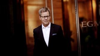 Bild: Egmonts koncernchef Steffen Kragh. Fotograf: Nicolai Lorenzen