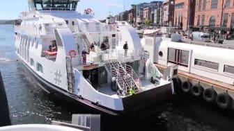 Cavotec e-ferry charging in Oslo